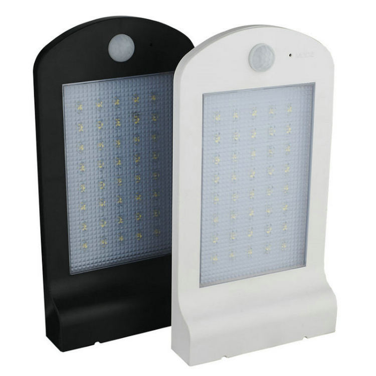 Waterproof wall mounted 40LED solar street light