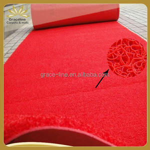 soft pvc foamed backing mat in roll