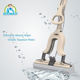 Boomjoy MAGIC PVA sponge mop J13 telescopic handle folding mop.