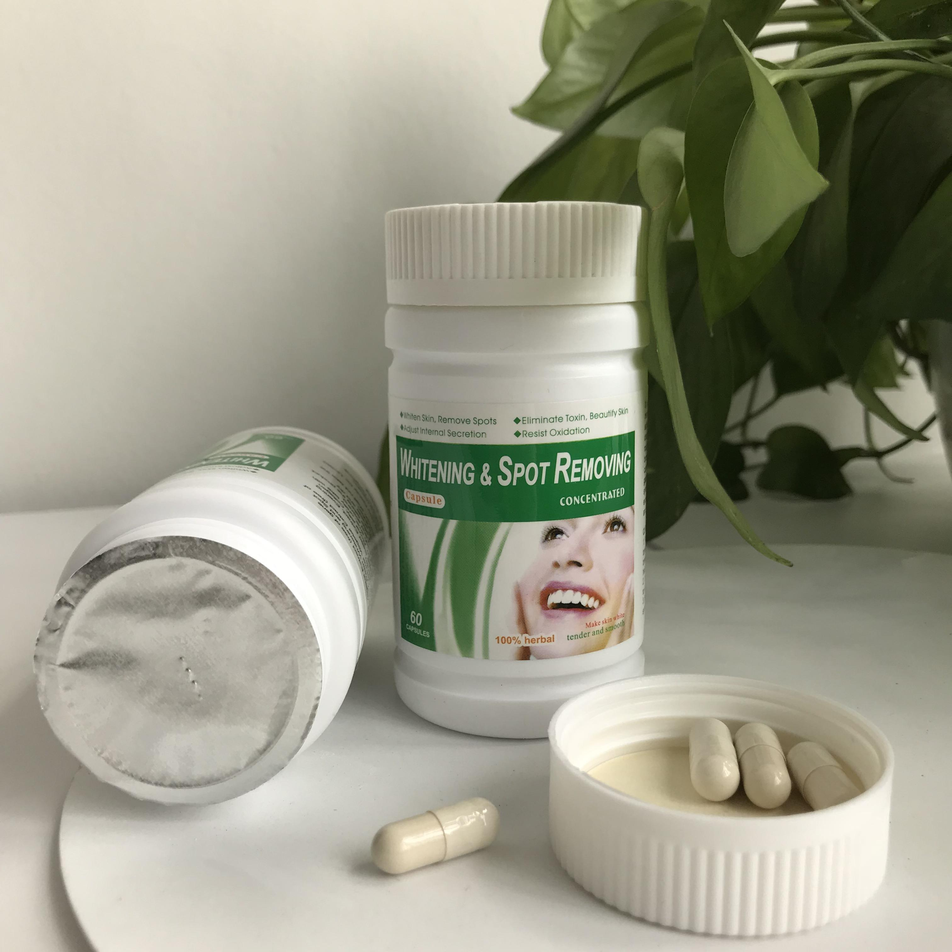 beauty skin product Pearl whitening spot removing capsule