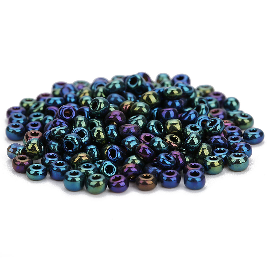 Wholesale 4mm Seed Beads Round Glass Beads For DIY Jewelry Necklace Making