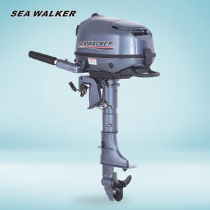 Seawalker 4-Stroke 6HP Outboard Motor Short Shaft Marine Engine Boat Engine For Inflatable Fishing Boat