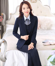 Fashion Lady Cotton Cheapest Hotel Manager Reception Uniform