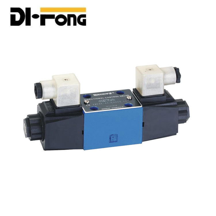 Single head Rexroth type 4WE6 series hydraulic directional control valve 12v/24v/36v solenoid valve