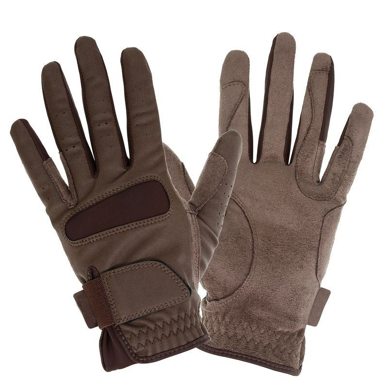 All size riding gloves horse riding gloves for MAN/WOMAN summer brown