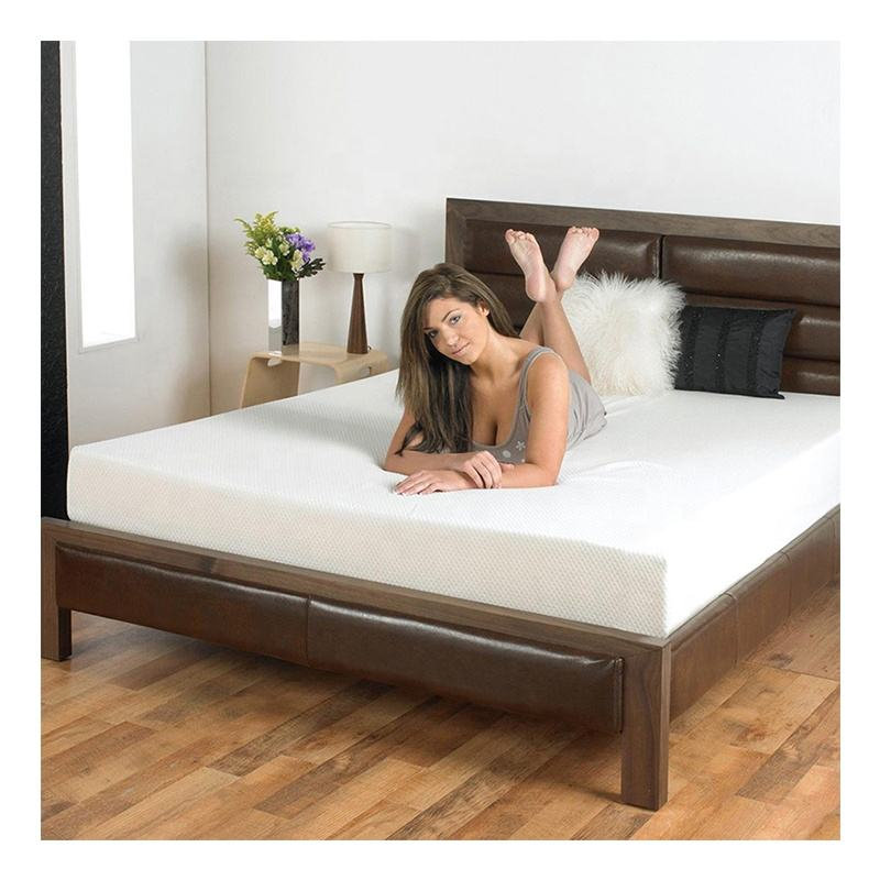 CertiPUR-US Multiple Sizes 6 8 10 12 Inch Sponge Gel Memory Foam Bed Mattress