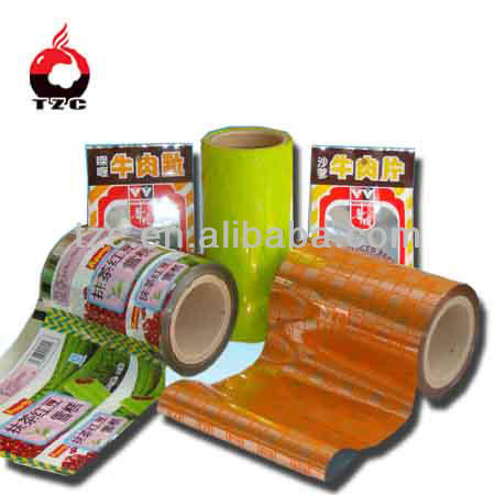 Top Grade Transparent Cellophane Roll for food Packaging