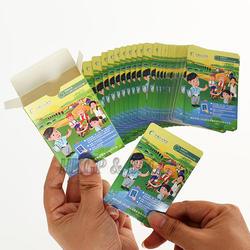 Custom Paper Cartoon Image Playing Cards For Kids