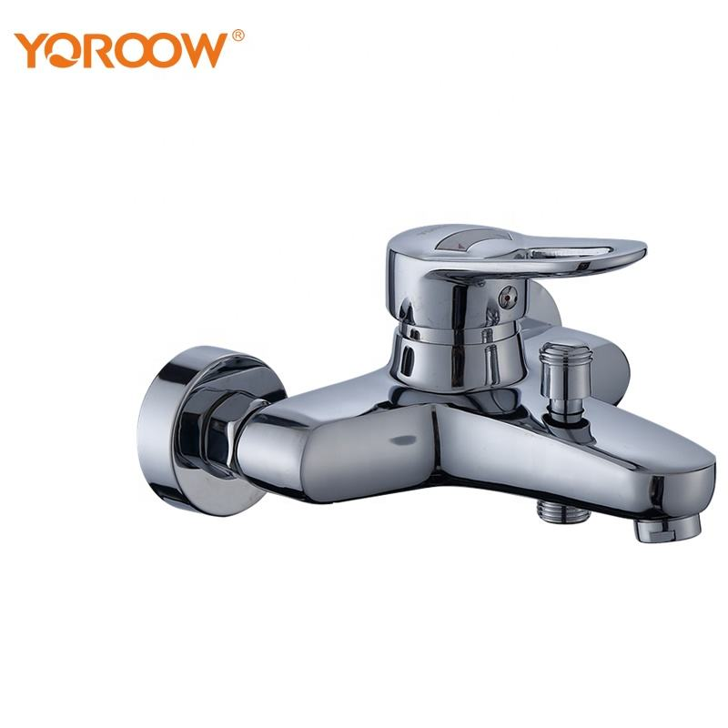 High quality low price zinc wall bathroom tap bathtub shower mixer faucet