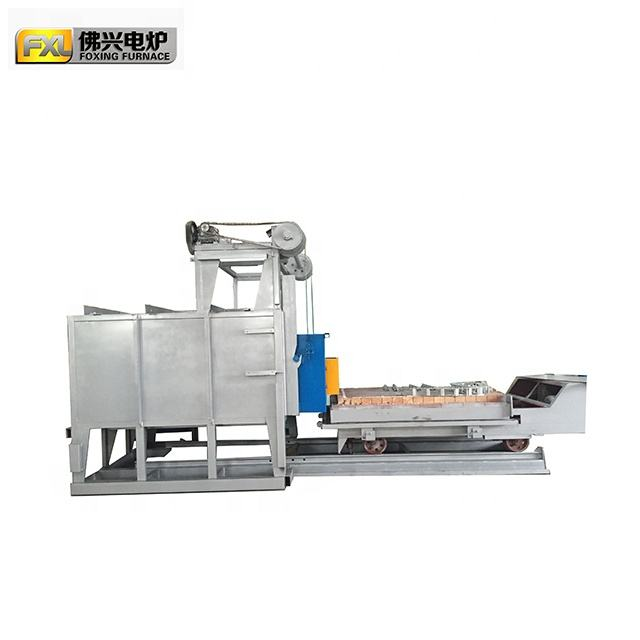 Trolley Type metal Electrical Resistance Heating Treatment Furnace,