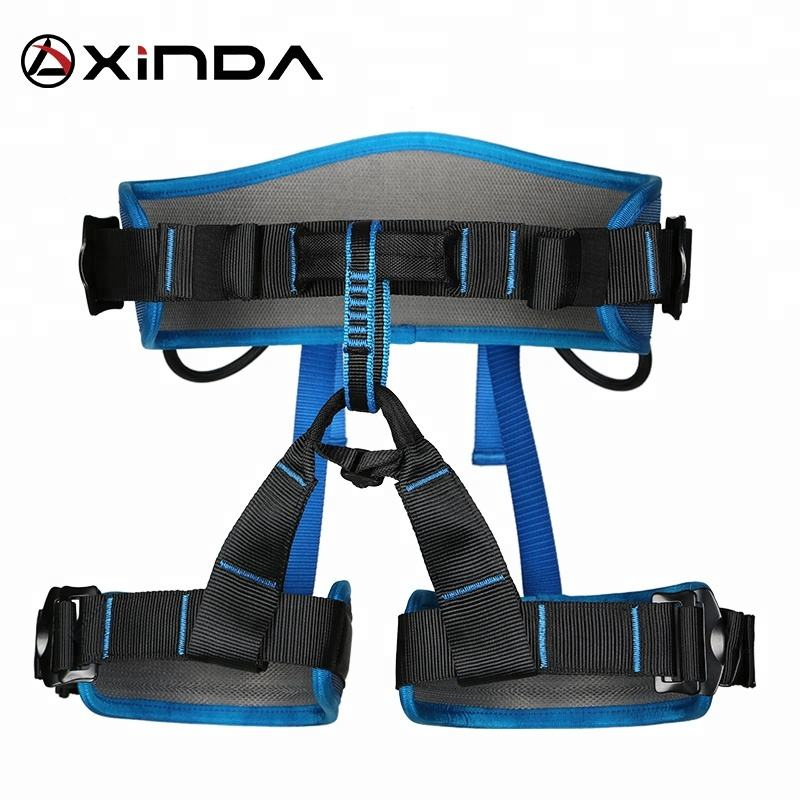 XINDA cheap wholesale half body climbing harness with padding