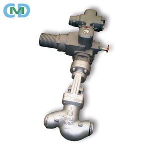 Motorized High Pressure Forged steel SW Globe valve