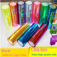 Adhesive Tint Iridescent Color Film for Chameleon Headlight Lamp Lights