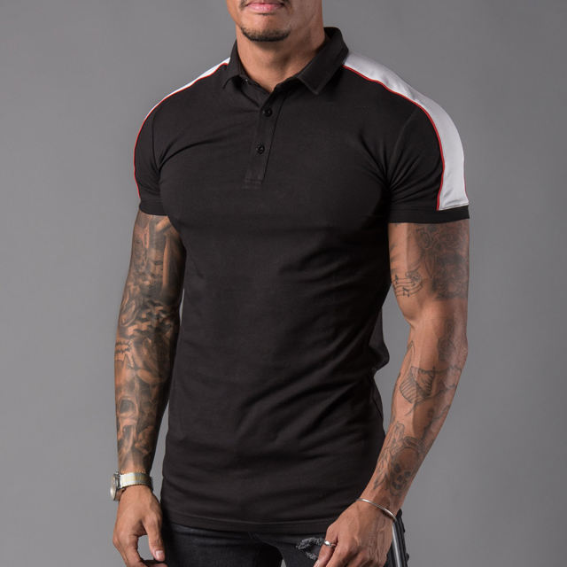 Custom best quality new arrival anti shrink Pima cotton polo shirt