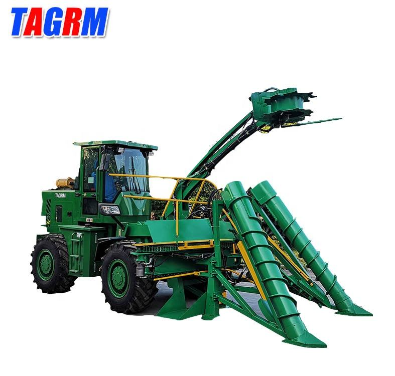 Whole stalk sugarcane harvester/sugarcane cutter/cane machine