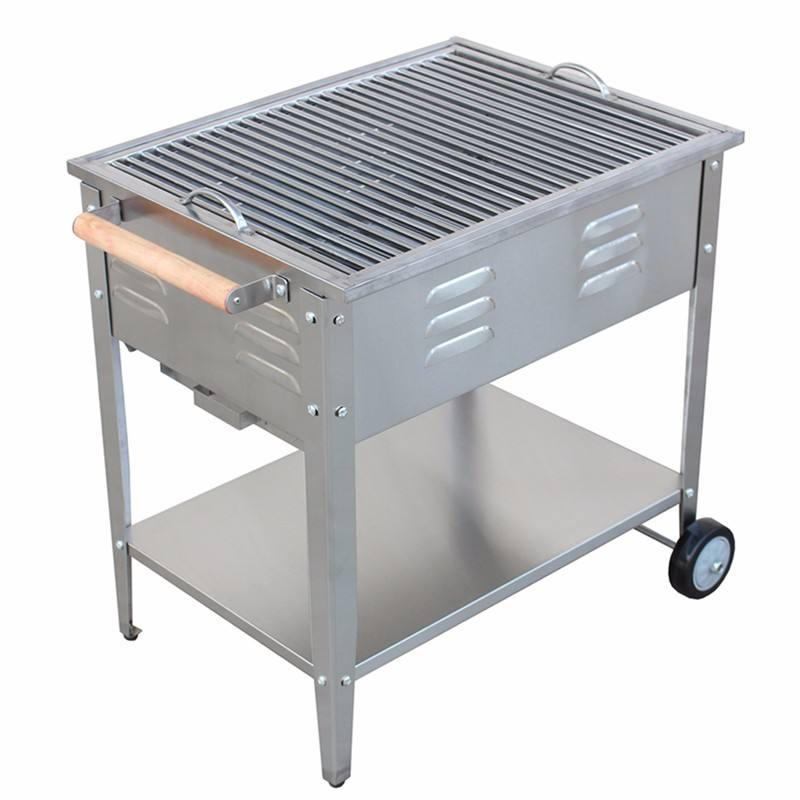 Foshan JHC-8016A charcoal BBQ grills/stainless steel Barbecue grills/commercial charcoal bbq grill
