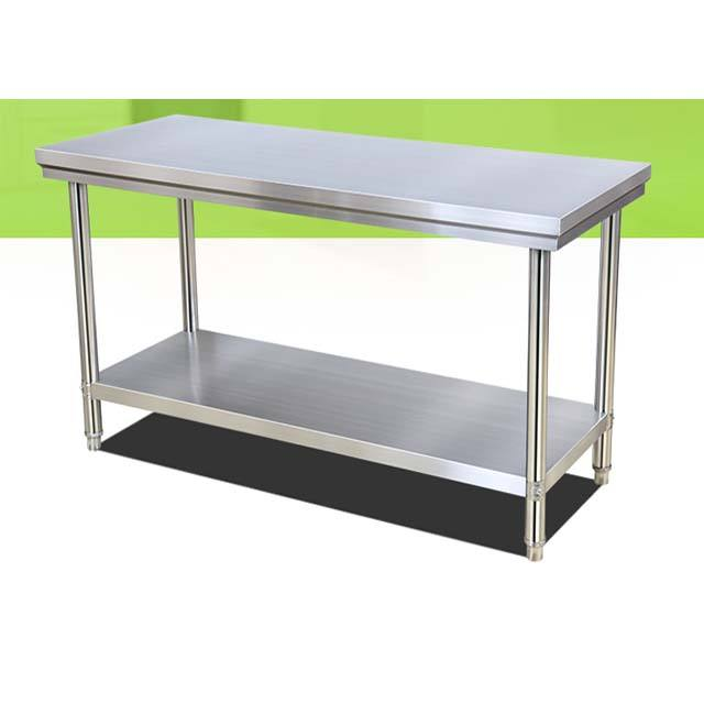 Stainless steel workbench kitchen caseboard operating bench packing counterboard test bench kitchen stainless steel table