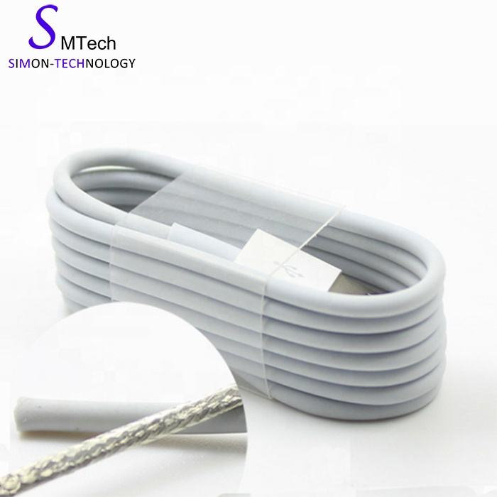 Free shipping Factory wholesale for iPhone white usb cable bulk charger