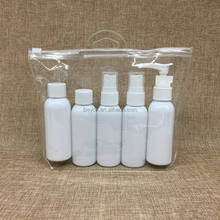 Custom 50Ml Pet Plastic Bottle Kit,5Pcs Travel Plastic Bottles