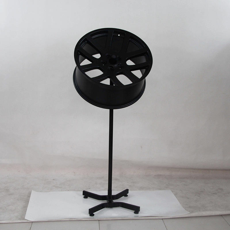 alloy wheel display stands for retail shop