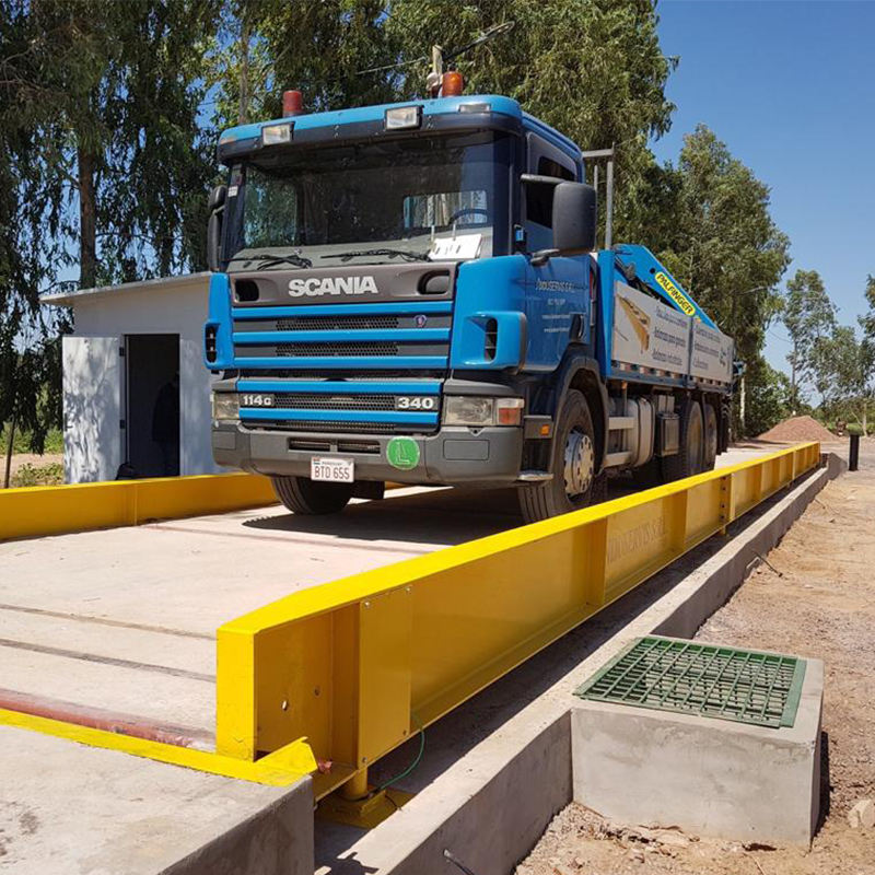 Waterproof steel 60 ton 3*16m electronic weighbridge weigh bridge weighing scale parts price