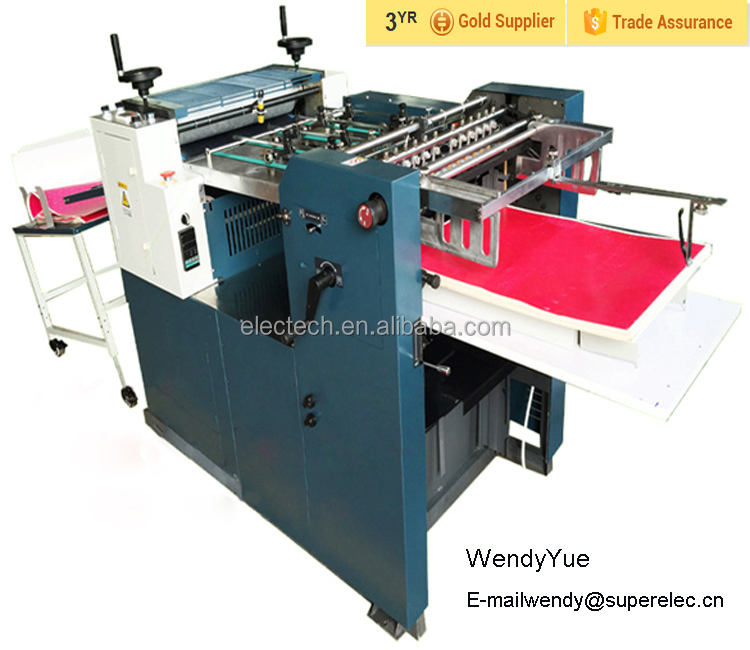 Automatic Paper Embossing Machine for Typing Copy shop/ Paper Card Embossing Machine