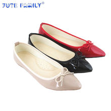 2019 Comfortable Factory Supply Ladies Shoes Simple Design Ladies Flat Shoes women