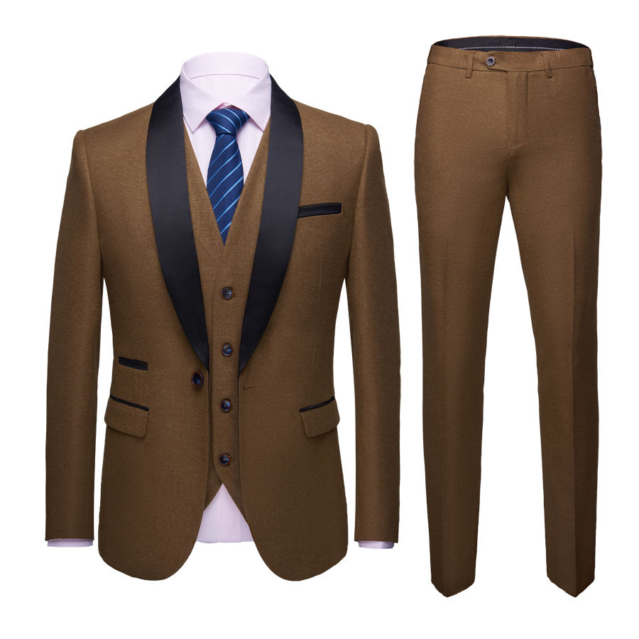 Men Coat Turkey Pant Coat Design For Men Navy Blue Wedding Suit