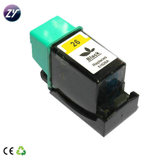 Gereviseerde 51626 inkjet cartridge voor ei printer