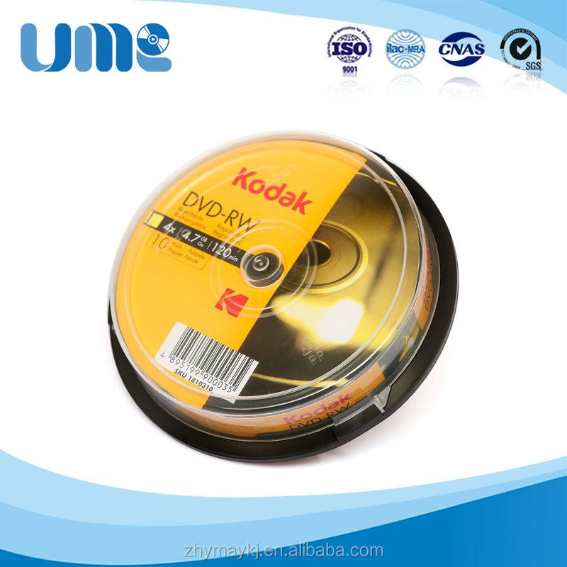 full print 4.7g 16X blank dvd rw with High quality