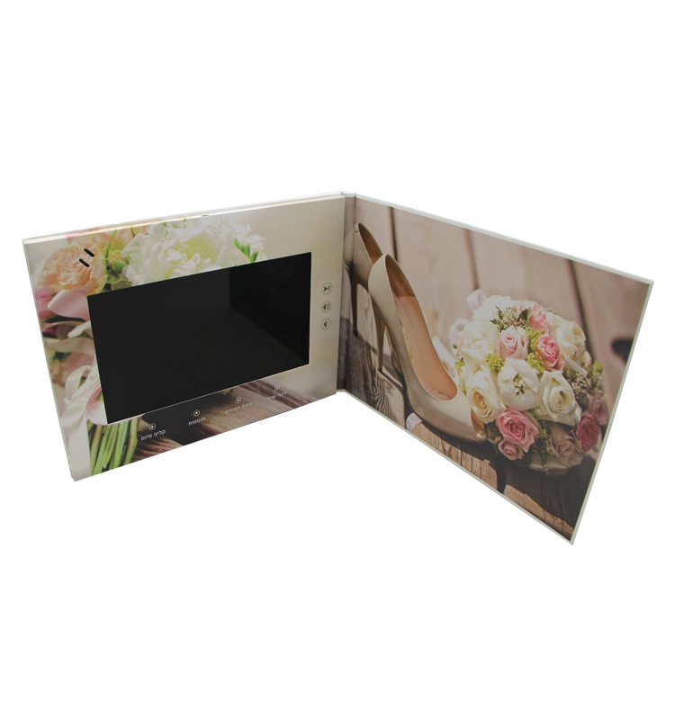 "Video Wenskaart 2.4 ""2.8"" 4.3Inch 5Inch 7Inch 10 ""Visitekaartje Lcd-scherm Video module/Brochure"