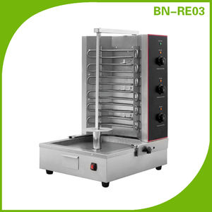 Commercial Food Machinary 3 Controls Electric Doner Kebab Machine For Sale (CE Approval)