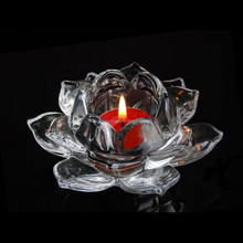 hot sell crystal lotus flower table centerpieces crystal lotus