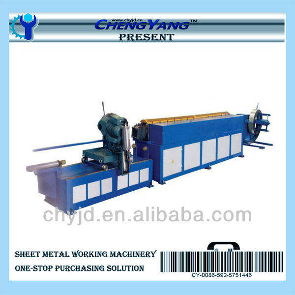 TDC flange roll forming machine