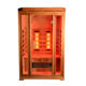 2 person Full spectrum wooden far infrared sauna
