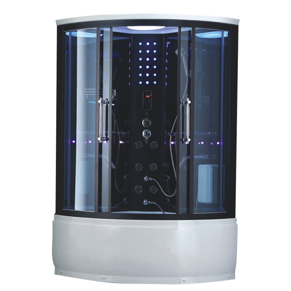 HS-SR081 steam shower stall/ steam bathroom showers/ hydromassage shower cabin