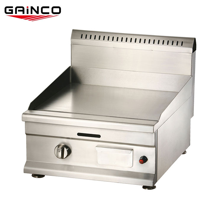 Smokeless Barbecue flat grillgas griddle plate/commercial griddle with stand