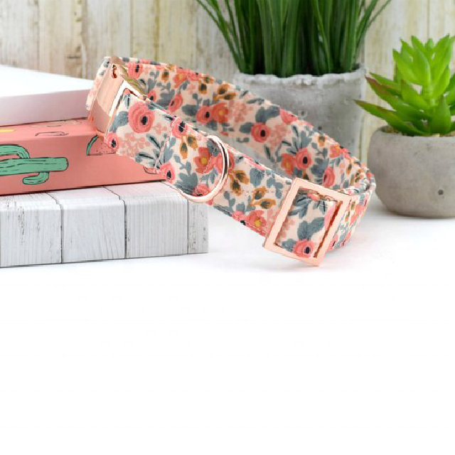 Luxury Custom pattern pet dog collar
