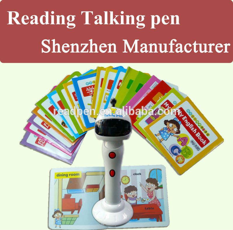 <XZY>завод чтение ручка для продажи, 5 языков перевода говорить ручки