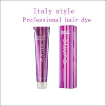 Italy style selective professional hair colors products use in salon