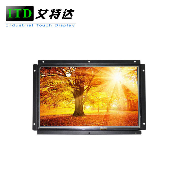 7 inch high brightness 1000nits LED touch screen lcd monitor for outdoor kiosk