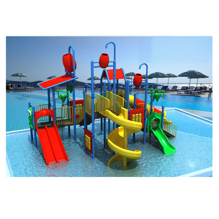 Summer water games hard plastic kids water slide for adult used swimming pools HF-G145B