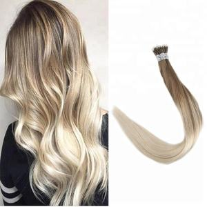 Brazilian Hair High Quality Human Hair Nano Ring Hair Extensions NO Shedding for White Women in Fast Shipping
