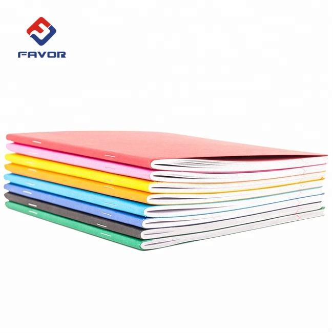 cheap student soft cover 128 gsm note book exercise book for children