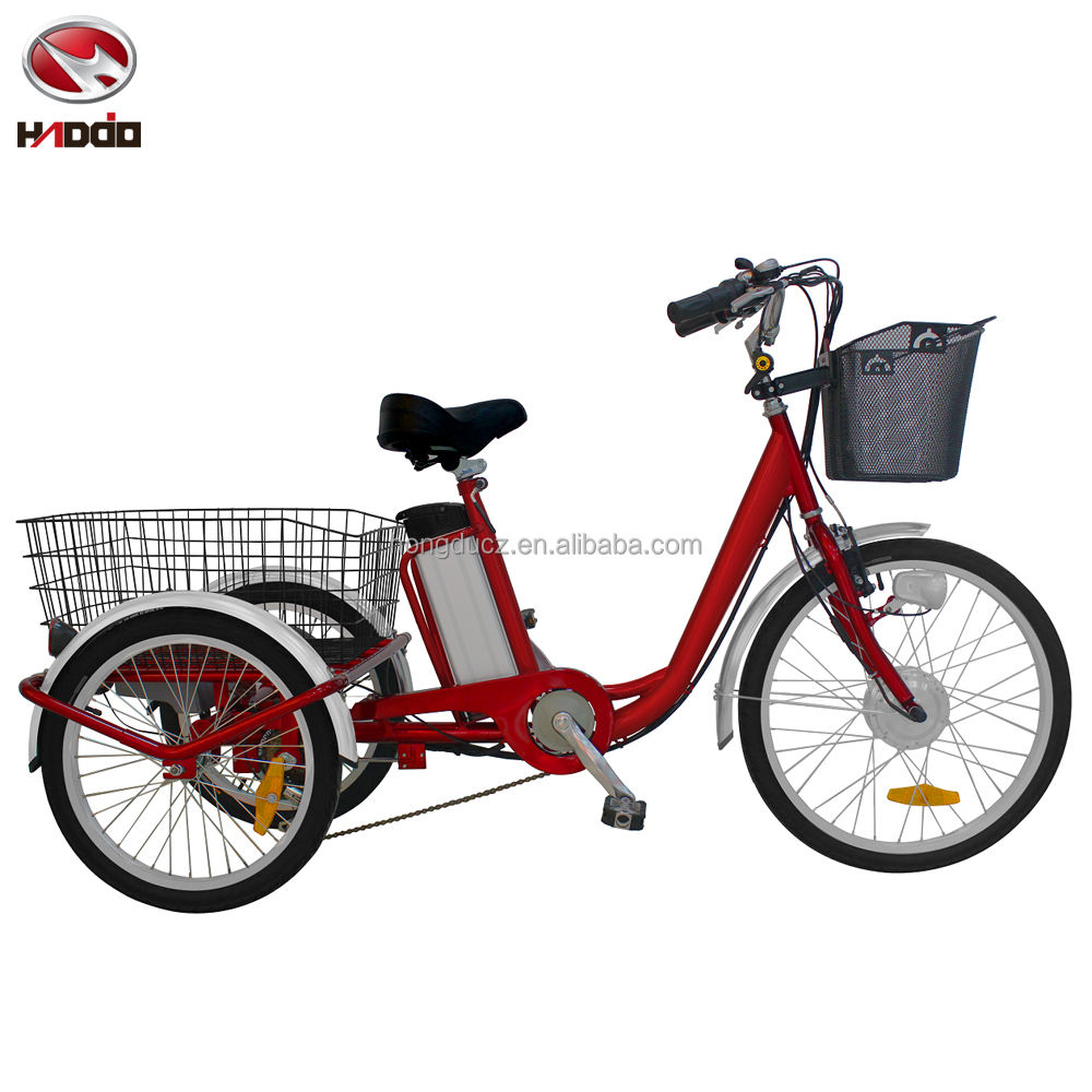 250W dreirad 3 rad elektrische fahrrad lithium-batterie led-anzeige 2017 neue <span class=keywords><strong>modell</strong></span> 250w/350w/500w