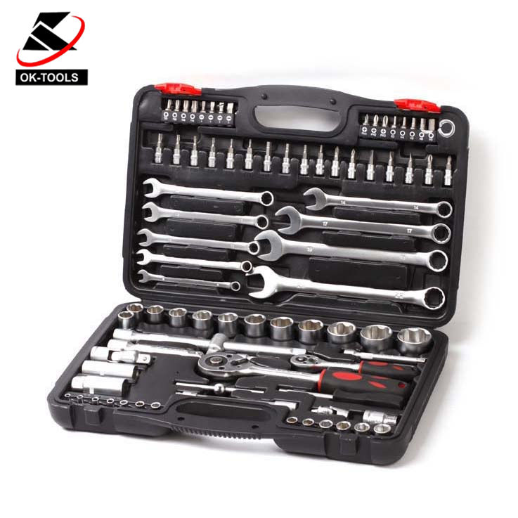Kraftwelle OK-TOOLS 82Pcs socket box spanner set