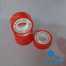 Hot selling waterproof seal tape pipe fitting 100% ptfe thread seal tape with transparent spool