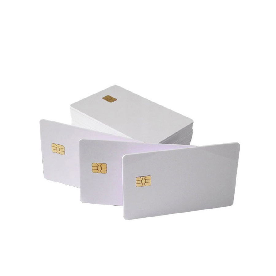 Manufacturer Sle4442 chip contact blank PVC waterproof printable proximity access control Smart card