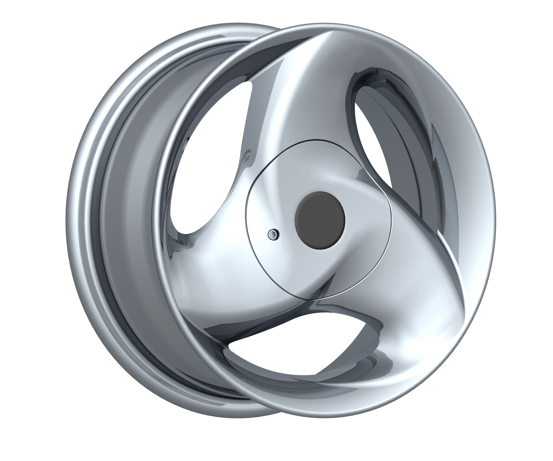 13*5.5 4X100 3 spoke special car alloy aluminium wheel rims with cheap price