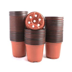 two tone plastic growers pot